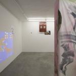 Alfredo Volpi [projection], Rainer Ganahl, Matthew Lutz-Kinoy, Emanuele Marcuccio, Daniel Faust