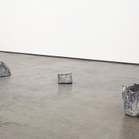 Tania Pérez Córdova, 'Starting from...', 2013, Zinc, metal, objects and graphite crucible filled with melted zinc