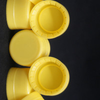 Security plastic bottle samples (Yellow)