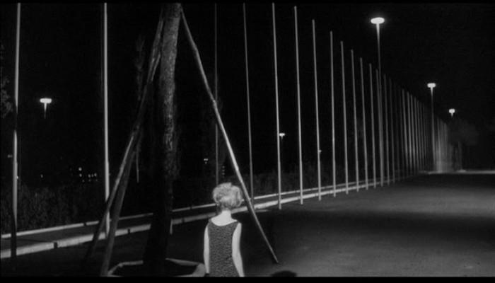 Monica Vitti - L'Eclisse (1962) flag poles