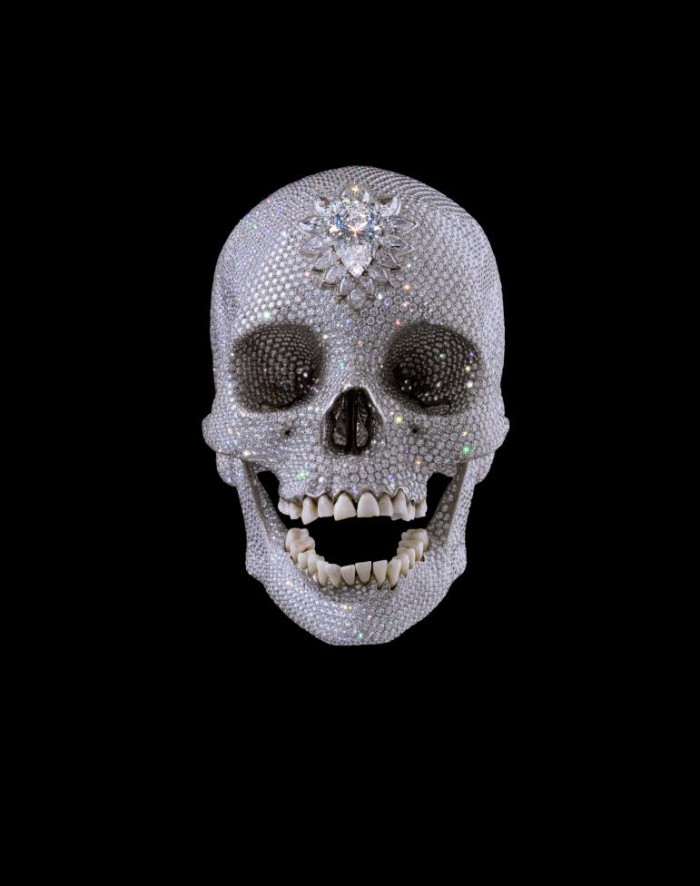 Damien Hirst, For the Love of God, Platinum, diamonds and human teeth, 2007
