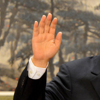 This is the right hand of the president of China.