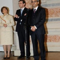 Portugal's prime minister Pedro Passos Coelho suppressed recently the Ministry of Culture to be replaced by a simple Secretary of Culture (here talking: Jorge Barreto Xavier)