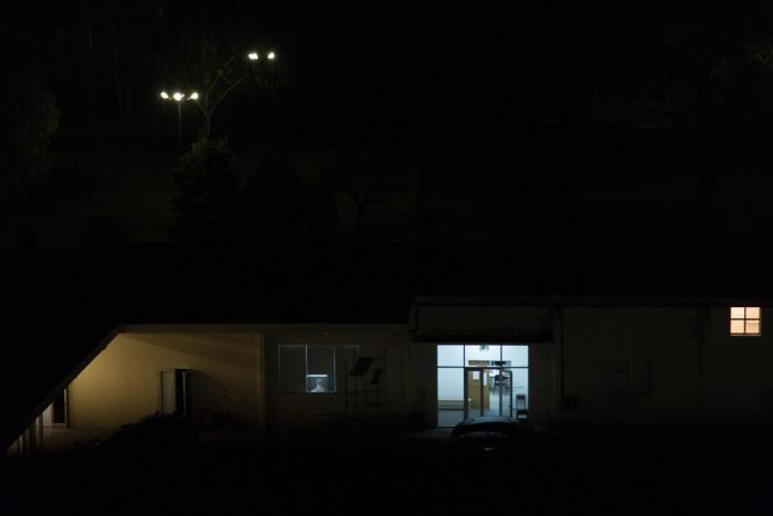 Departamento de Arte de noche