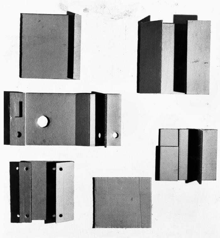 GustavMetzgerCardboards1959