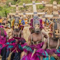 Tiécoura N'Daou, Danse des masques en pays Dogon, 2014