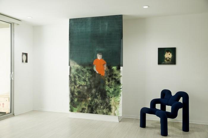 Hadrien Jacquelet - Installation View 2 Photograph by Daniel Sahlberg