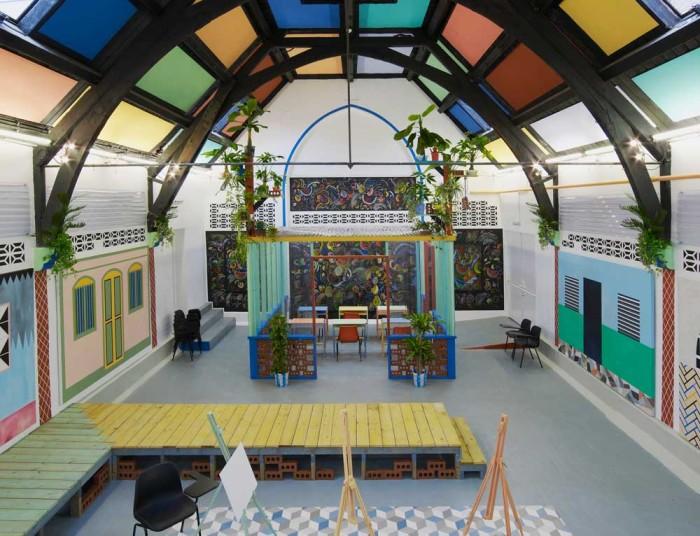 3.-Sol-Calero-'La-Escuela-del-Sur,'-2015.-A-Studio-Voltaire-commission.-Installation-view-Studio-Voltaire,-London.-Courtesy-of-the-artist-and-Laura-Bartlett-Gallery,-London
