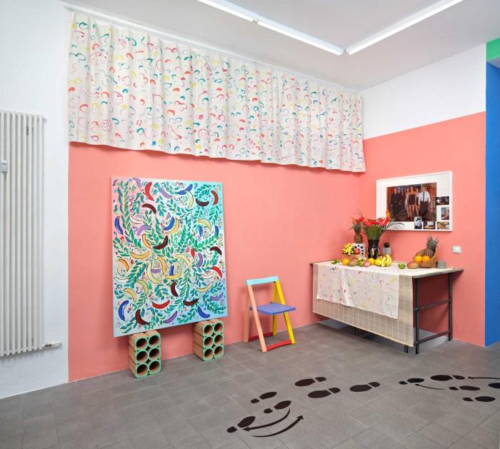 8.-Sol-Calero-'Salsa',-2014,-Gillmeier-Rech,-Berlin.-Installation-view
