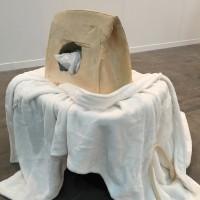 Debora Delmar, 'Longterm Investment (Tamarind)', hydrostone, tamarind flavor powder, shopping bags, plush robe, plastic container, 68 x 60 x 46 cm, 2016.