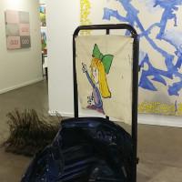 Ida Ekblad at Karma International, Zürich/Los Angeles. Dallas Art Fair 2016.