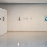 Vista de exhibición AEnciclopedia, de Luis Romero.