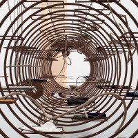 Iza Tarasewicz, TURBA, TURBO, 2015. Installation composed of a reconfigurable modular system and diverse elements.