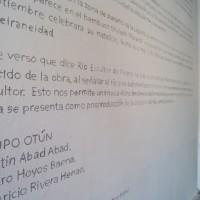 Grupo Otún (Martín Abab Abad, Álvaro Hoyos Baena, Mauricio Rivera Henao), Río Escultor de Piedras, 2016, Instalación, Variables. Cortesía: AÚN 44 Salón Nacional de Artistas | David Escobar Parra
