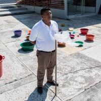 Eider Yangana, Se recoge y se libera, 2015-2016, Performance, Variables. Cortesía: AÚN 44 Salón Nacional de Artistas | David Escobar Parra.