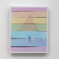 Infinite Rewrite XXII, 2016. Impresión cromogénica sobre aluminio, base de acrílico. 26.6 x 21.5 x 1.5 cm. Parque Galería, Ciudad de México. Fotografía de Daniela Uribe.