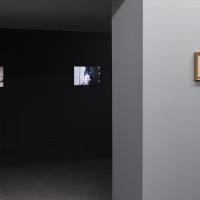 Martín Sichetti. Microfilms, Hache Galería, Buenos Aires, Argentina, 2016. Fotografía: Ignacio Iasparra.
