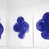 Sin título (detalle), 2016. Gouache sobre papel. 315 x 670,5 cm. Cortesía de Ruth Benzacar Galería de Arte, Buenos Aires.