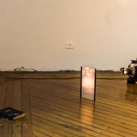 Pedro Victor Brandão, Brazilian Society: Part II, 2016. Projector, book, refractory film. Edition: Única. Variable dimensions. Courtesy of Sé Galeria. Photo credit: Pedro Victor Brandão.