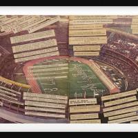 1978 World cup, 2016. Press paper collage. 34 x 52 cm. Courtesy: Arróniz Arte Contemporáneo. Photo credit: Otmar Osante