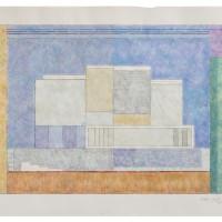 Alejandro Puente. Sin título, 2000. Acrílico sobre papel. 37 x 52 cm.