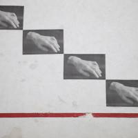 Vista de exhibición de Los gestos muertos, 2016. Cortesía de la artista. Crédito de la foto: Laetitia Jeurissen.