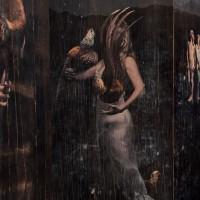 El verdadero jardín nunca es verde, vista de sala, 2016. Resina, fotografía e impresión sobre madera. Instalación de medidas variables. Cortesía de Barro Arte contemporáneo. Fotografía: Santiago Ortí.