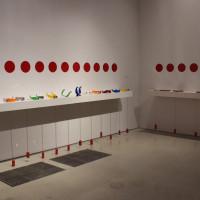 Julio Le Parc: Form into Action, installation view Pérez Art Museum Miami, 2016. Photo courtesy PAMM.