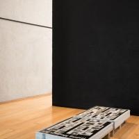 Raphaël Zarka, Riding Modern Art, 2007-2016. Impresión offset / offset printing. Cortesía de Museo Experimental el Eco. Fotografía: Rodrigo Valero Puertas.