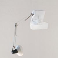 Boris Achour, Leftovers (Nora), 2016. Lámpara, poliestireno, cable / lamp, polystyrene, cable. Cortesía de Museo Experimental el Eco. Fotografía: Rodrigo Valero Puertas.