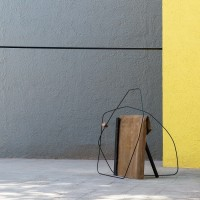 Tatiana Trouvé, Refolding, 2013. Bronce patinado, metal, cuerda, madera / patinated bronze, metal, rope, wood. Cortesía de Museo Experimental el Eco. Fotografía: Rodrigo Valero Puertas.
