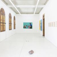 Vista de exhibición, 2017. Cortesía de Die Ecke, Santiago.