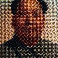Mao, 2016. Lápiz pastel sobre papel. 106 x 80 cm.