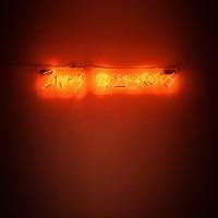 Willy Kautz, Jippies Asquerosos (Neón), 2016. Neón. Medidas variables. Cortesía: El cuarto de máquinas. Crédito de la foto: El cuarto de máquinas.