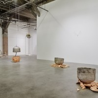 Installation view: Kathryn O'Halloran, Electric Longings, Harmony Murphy Gallery, Los Angeles, January 25th - March 11th, 2017. Image courtesy of the artist and Harmony Murphy Gallery. Photo: Marten Elder.