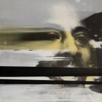 Speaker Corner Flow, 1994. Mixta sobre photolinen. 250 x 200 cm. Colección particular.