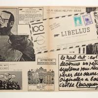 Ulises Carrión, Libellus. Una publicación de arte correo mensual, 1981. Impresión sobre papel Archive for Small Press & Communication, Centre for Artists' Publications, Weserburg, Bremen. Cortesía del Museo Jumex