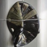 Hubert Marot, GOVA XII, 2017. Glazed ceramic. 38,5 x 27,5 x 14 cm. Courtesy of the artists.