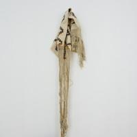 Mendoza Fudakowski, 2017. Lana, tinte. Fotografías. 60 x 75 cm. Cortesía de la artista, Lodos, Ciudad de México y ChertLüdde, Berlín. Fotografía: PJ Rountree.