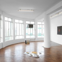 Céu Torto, installation view, BFA Boatos Fine Arts, Sao Paulo. Courtesy of the artists and BFA Boatos Fine Arts.