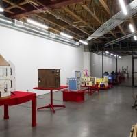 Mathis Altmann, Wir sind das Volz. Installation View. Freedman Fitzpatrick, Los Angeles. March 12 – April 22, 2017. Courtesy of the artist and Freedman Fitzpatrick, Los Angeles. Photo: Mathis Altmann.