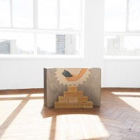Marcelo Cipis, Soap Pyramid, 1991. Soap and wood background. Variable dimensions. Courtesy of the artists and BFA Boatos Fine Arts.