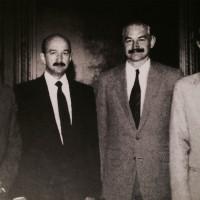 -Álbum familiar-. Los cuatro Salinas de Gortari. Foto sacada de internet.