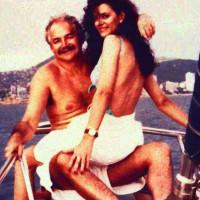 Raúl Salinas y María Bernal a bordo de un yate. Foto tomada de internet.