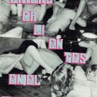 Paloma Contreras Lomas, -Chicas calientes en el museo-, 2015. Collage, parte del Fanzine Menstrual día 2.