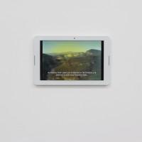 Mario García Torres, Carta abierta al Dr. Atl, 2005. Video a color con audio transferido de formato Super 8 mm. Colección privada. Cortesía de Fundación CALOSA, Irapuato. Fotografía: Ana Blanco