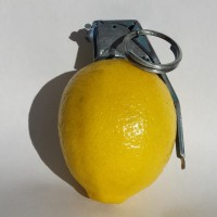 Untitled. Lemon and