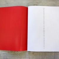 Lucia Elena Prusa, Basic Feelings, 2017. Libro de artista, impresión digital, 156 páginas. 23.5 x 32 cm. Cortesía: Travesía Cuatro. Crédito de la foto: Samantha Cendejas.