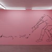 Catalina Schliebener. Growing Sideways, curaduría John Chaich, Hache Galería, Buenos Aires, Argentina, 2017. Cortesía de HACHE Galería.