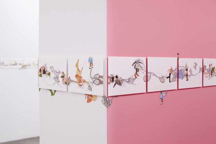 Catalina Schliebener. Growing Sideways, curaduría John Chaich, Hache Galería, Buenos Aires, Argentina, 2017_13